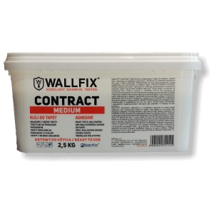 Profesjonalny klej do tapet Wallfix Contract Medium 2,5 kg
