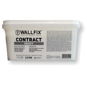 Profesjonalny klej do tapet Wallfix Contract Heavy 2,5 kg