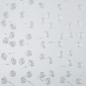 Panel PL 3D ROSES Silver PF Silver
